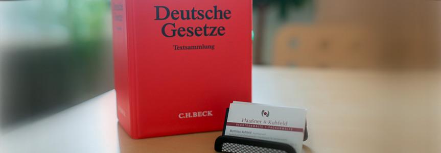 Haußner & Kuhfeld | Rechtsanwälte, Fachanwälte | Team